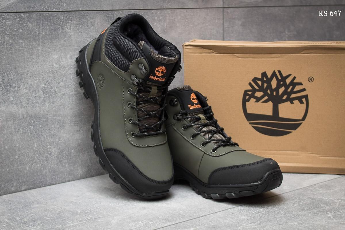 5f1359885154 ... Мужские зимние ботинки ( кроссовки) Timberland Canard Oxford реплика  (хаки) , фото 3 ...