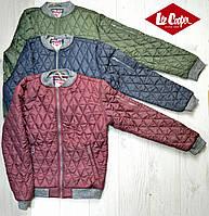 Мужская куртка стеганная Lee Cooper лии купер Оригинал демисезонная весна осень