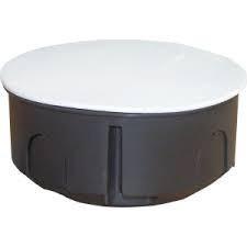 Коробка (ДОЗА) розподільча з кришкою 80д бетон (уп.100шт.) (035)