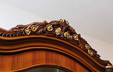 Витрина (сервант)  в гостиную 4Д в классическом стиле, гостиная Париж Sof, фото 3