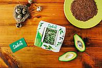 ЛЁН ТЕМНЫЙ, Микрозелень, семена льна органического для употребления в пищу и для проращивания, 200 грамм, фото 1