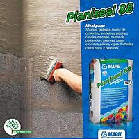 Осмотический цементный раствор для гидроизоляции кирпича и бетона Mapei Planiseal 88 Grigio (Планисил) 25 кг.