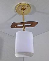 Люстра потолочная на 1 лампочку YR-6032/1-gd, фото 1