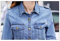 Джинсовая женская курточка AL7610, фото 1
