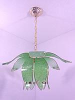 Люстра потолочная на 1 лампочку YR-8600/1-green, фото 1