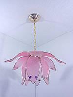 Люстра потолочная на 1 лампочку YR-8600/1-pink, фото 1