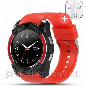 Смарт часы Smart Watch V8. Красная. Red