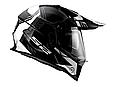 Мотошлем LS2 MX436 PIONEER BLACK WHITE TITANIUM, фото 3
