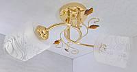 Люстра потолочная на 2 лампочки YR-8140/2-gd, фото 1