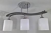 Люстра потолочная на 3 лампочки YR-6032/3-ch, фото 1