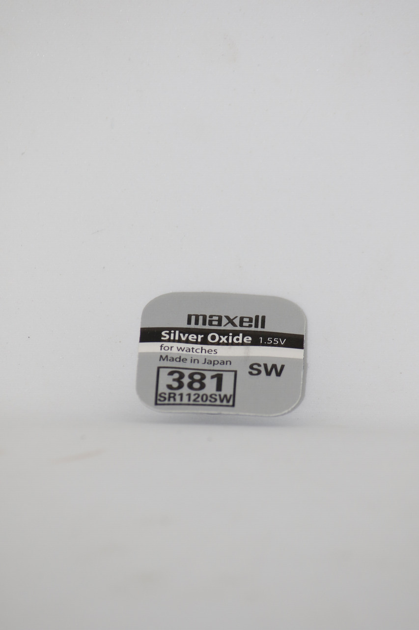 Часовая батарейка Maxell SR1120SW (381)