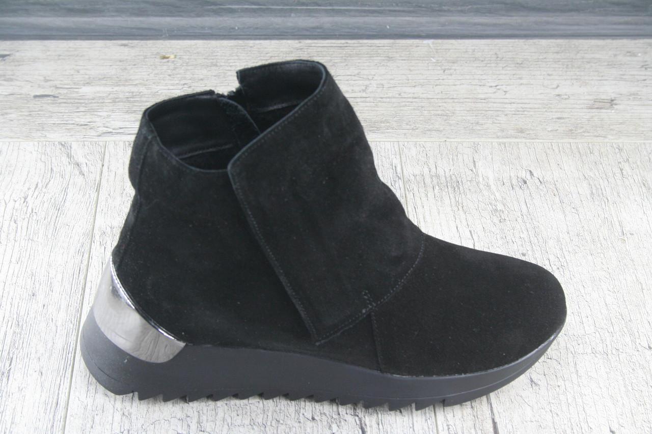 Ботинки, сапоги демисезонные Strado, обувь НАТУРАЛЬНАЯ, женская, повседневная, Украина