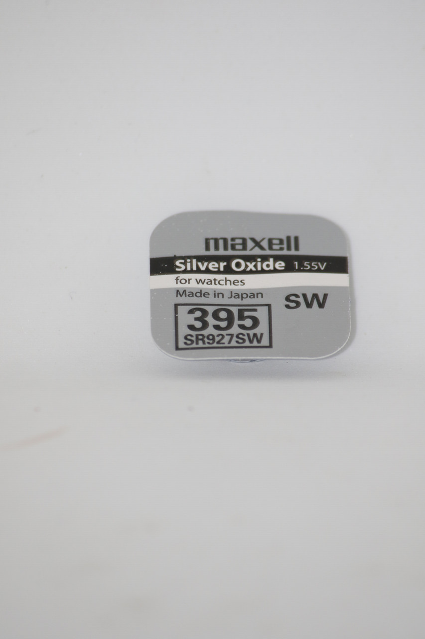 Часовая батарейка Maxell SR927SW (395)