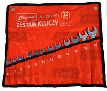 Набір ключів рожково-накидних 12 шт. 6-22 мм ST-27 Elegant EL 102 831