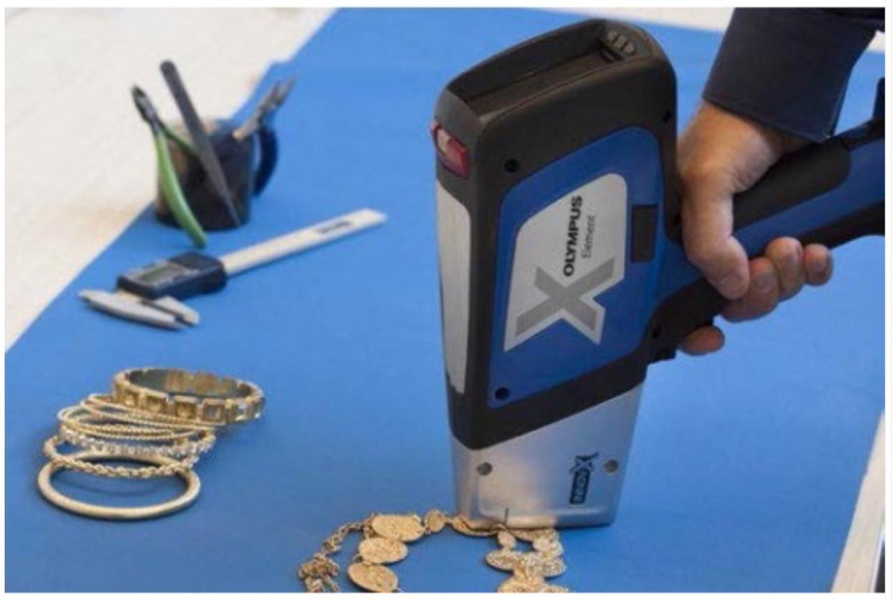 Сделать спектральный анализ металла футляр для монет в капсулах