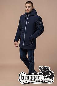Зимняя куртка мужская Braggart Black Diamond (р. 46-56) арт. 9018 U темно-синий