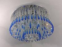 Люстра потолочная с цветной LED подсветкой и автоматическим отключением YR-3050/450, фото 1