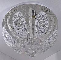 Люстра потолочная с цветной LED подсветкой и автоматическим отключением YR-5351/350, фото 1