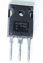 Диод HFA30PA60C (TO247AC) 3 ноги.