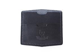 """Картхолдер компактный кожаный для купюр и карт """"Nippy"""""""