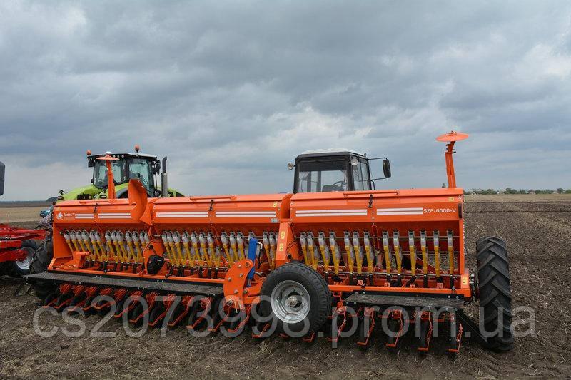 Сеялка зерновая СЗФ 6000 Вариаторная