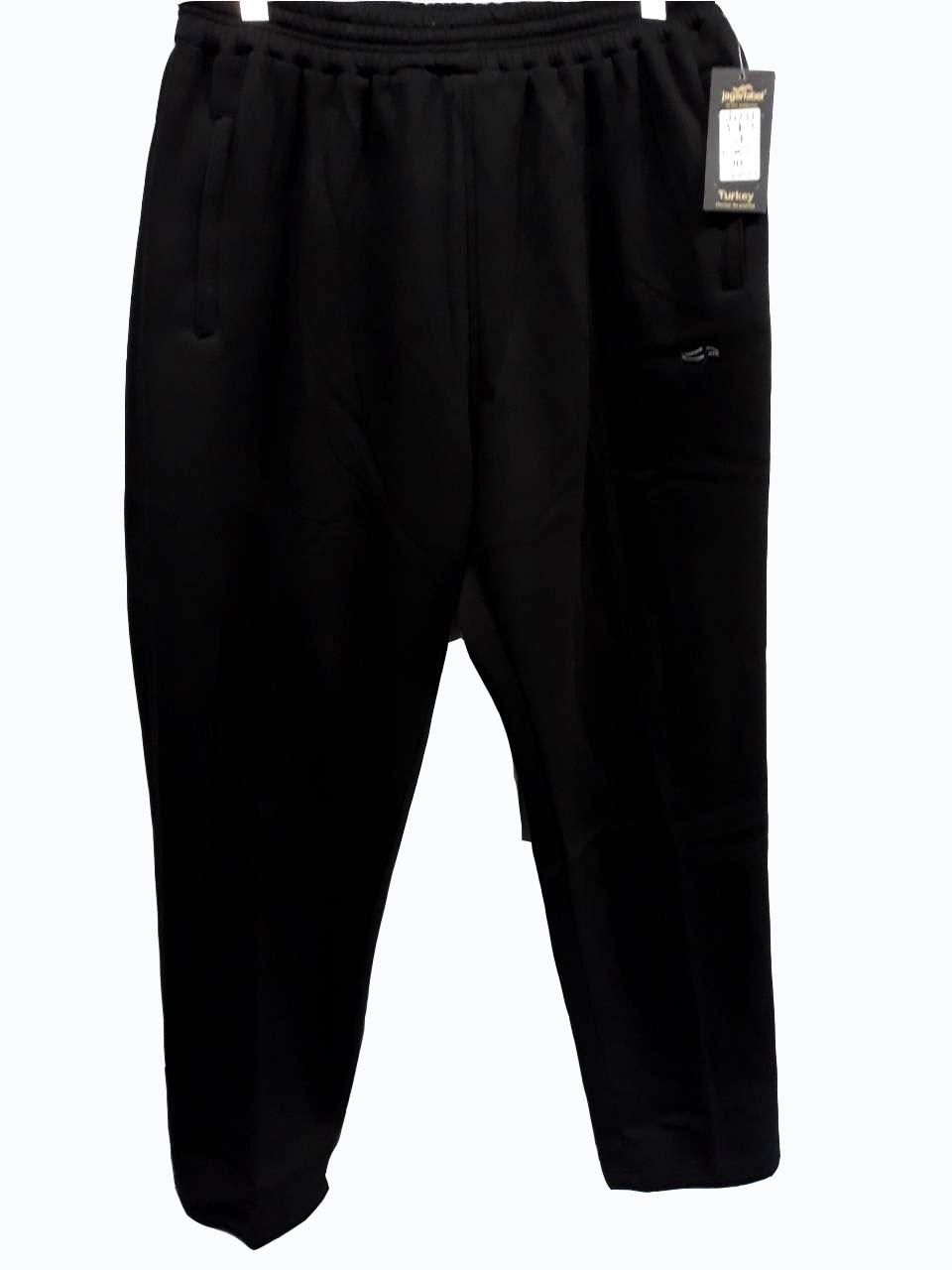 Брюки теплые Jager Fabel батал зимние мужские спортивные штаны  большого размера Черный