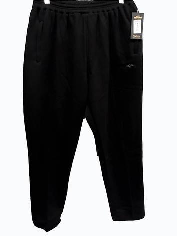 Брюки теплые Jager Fabel батал зимние мужские спортивные штаны  большого размера Черный, фото 2