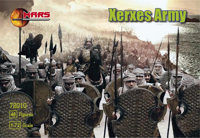 Армія Ксеркса. Набір фігурок в масштабі 1/72. MARS 72010