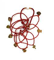Браслет Красная нитка с подвесом, фото 1