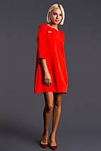 """Короткое платье своюодного кроя """"Сесилия"""" с четвертным рукавом (3 цвета), фото 2"""