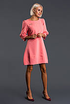"""Короткое платье своюодного кроя """"Сесилия"""" с четвертным рукавом (3 цвета), фото 3"""