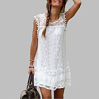 Пляжное платье с кружевами AL7288