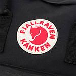 Рюкзак Fjallraven Kanken Black, фото 6