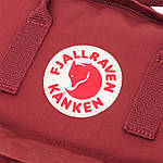 Рюкзак Fjallraven Kanken Ox Red, фото 6