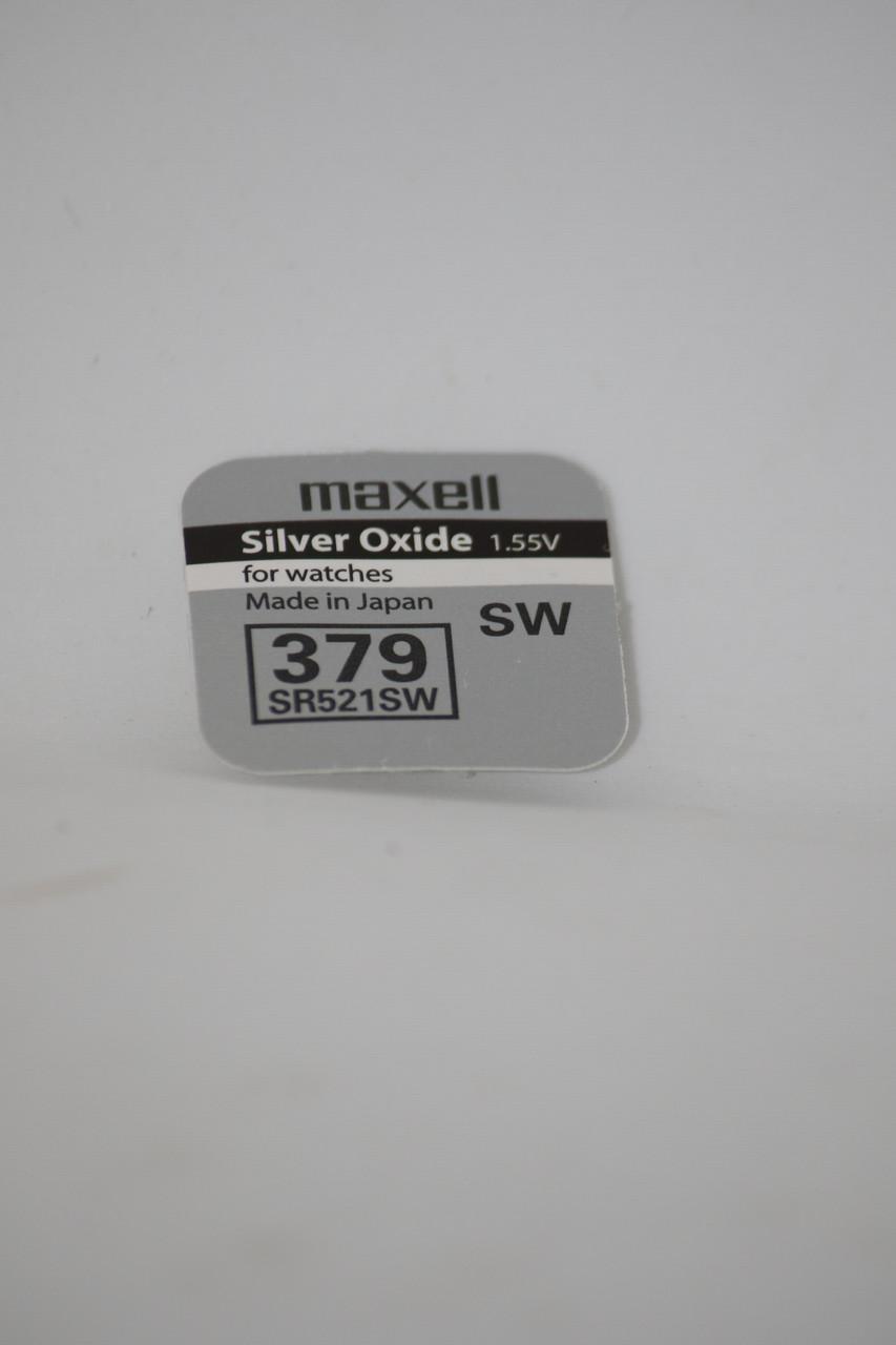 Часовая батарейка Maxell SR521SW (379)