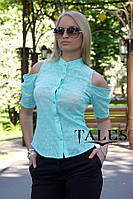Блузка из прошвы Tatu_mint