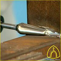 Борфрезы твердосплавные с крестообразными зубьями серии HF Klingspor