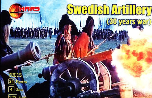SWEDISH ARTILLERY. 1/72 MARS 72015