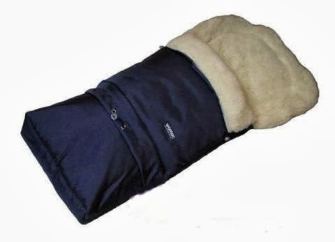 Спальный мешок-конверт на овчине № 20 (standart) 83x45cm / 106x45cm ТМ Womar