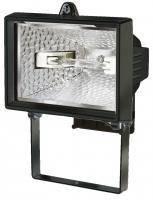 Прожектор галогенный H150; IP44; 120Вт; 2216 люмен; черный, фото 1