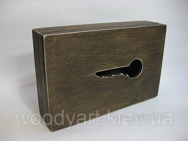Ключниця книга, дерев'яна ключниця