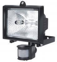 Прожектор галогенный H500; IP44; с датчиком движения; 400Вт; 8545 люмен; черный, фото 1