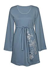 Платье с глубоким вырезом Ветка