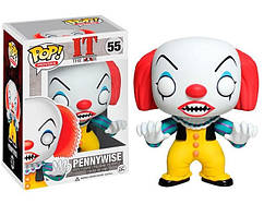 Фигурка Funko Pop Фанко Поп клоун Пеннивайз Pennywise Оно 1990 года  It Stephen King IT PW 55