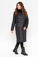 Женская куртка демисезонная Monte Cervino  черная большого размера 1851