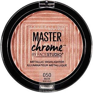 Maybelline MasterChrome Metallic Highlighter 050 Molten Rose Gold, фото 2