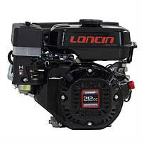 Двигатель бензиновый Loncin LC 170F (шпонка, вал 19мм)