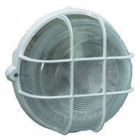 Светильник настенный круглый; IP44; 100Вт; белый