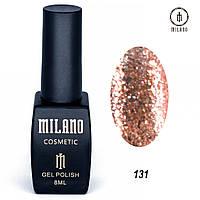 Гель-лак Milano 8 мл, № 131