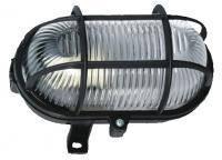 Светильник настенно-потолочный защищенный; IP44; 60Вт; черный, фото 1